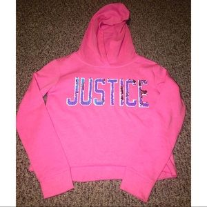 Kids justice hoodie